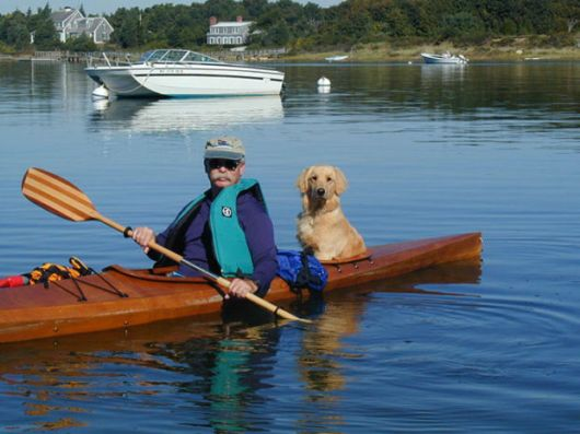 Man Builds Custom Kayak To Take His Dogs On Adventures