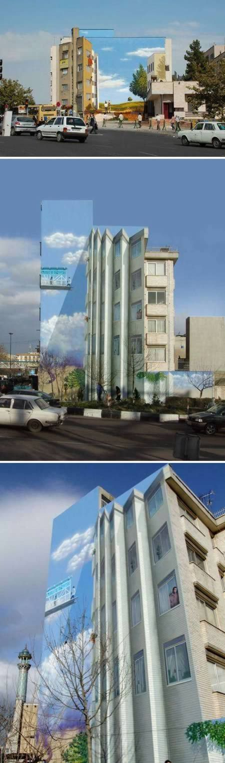 Most Amazing Buildings With 3D Facades