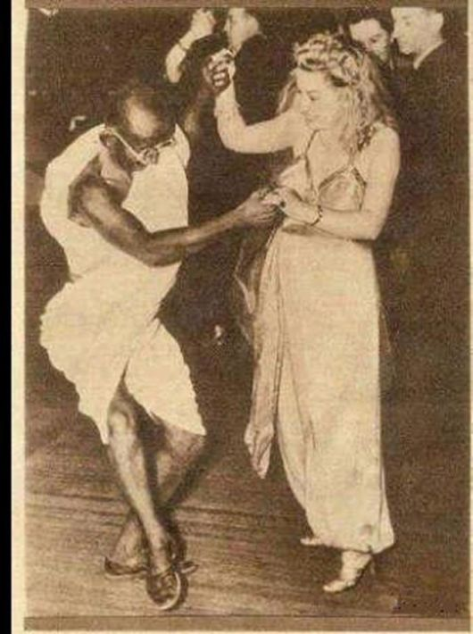 The Mahatma, On The Dance Floor - Rare Picture