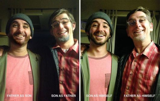 Father And Son Dress As Each Other Leaving Everyone Confused