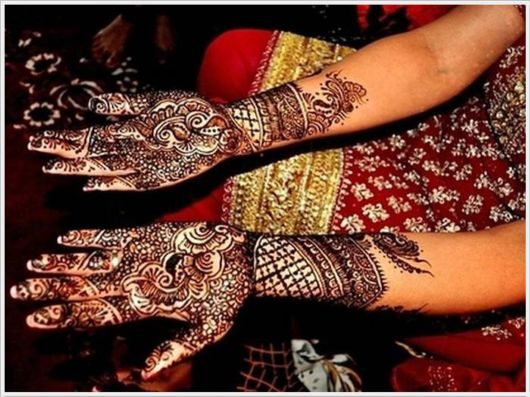 Traditional Indian Henna Tattoos