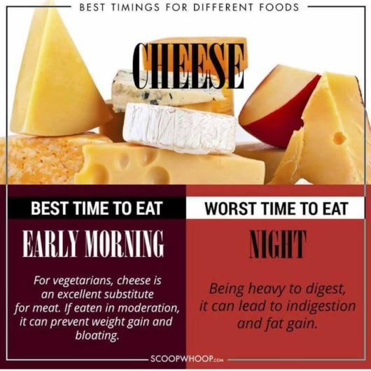 Know The Right Time To Eat Different Foods