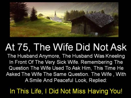 What Did You Miss In Life?