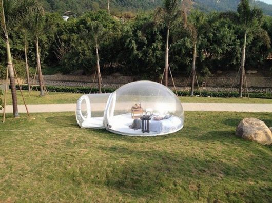 Amazing Transparent Bubble Tent