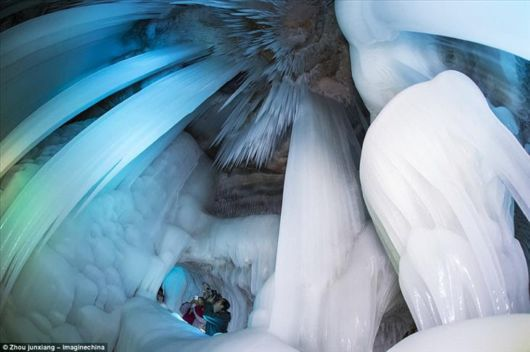 This Impossible Ice Cave Stays Frozen Through Summer
