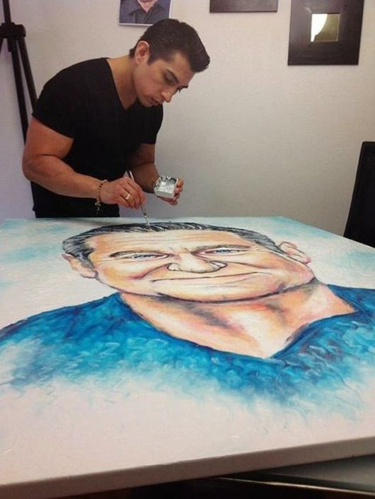 Amazing Artist Makes Paintings With Toothpaste