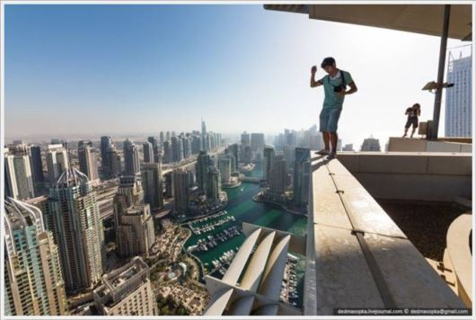 Beautiful Dubai from The Top