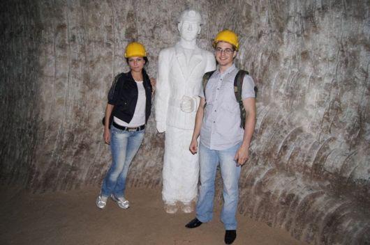 The Salt Mine at Soledar, Ukraine