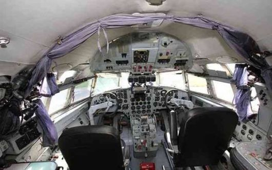 Amazing Chic Hotel In A Bomber Plane