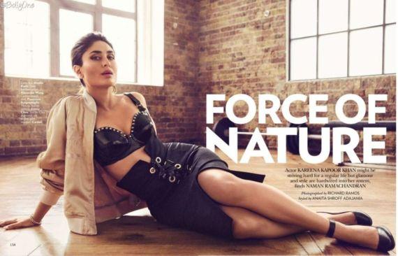 Kareena Kapoor For Vogue Magazine July 2016
