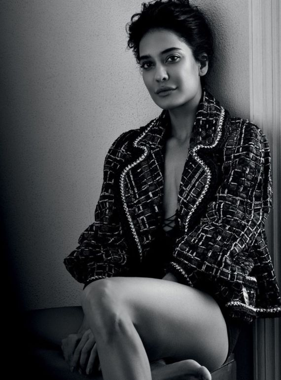 Lisa Haydon Shoots For Harpers Bazaar June 2016
