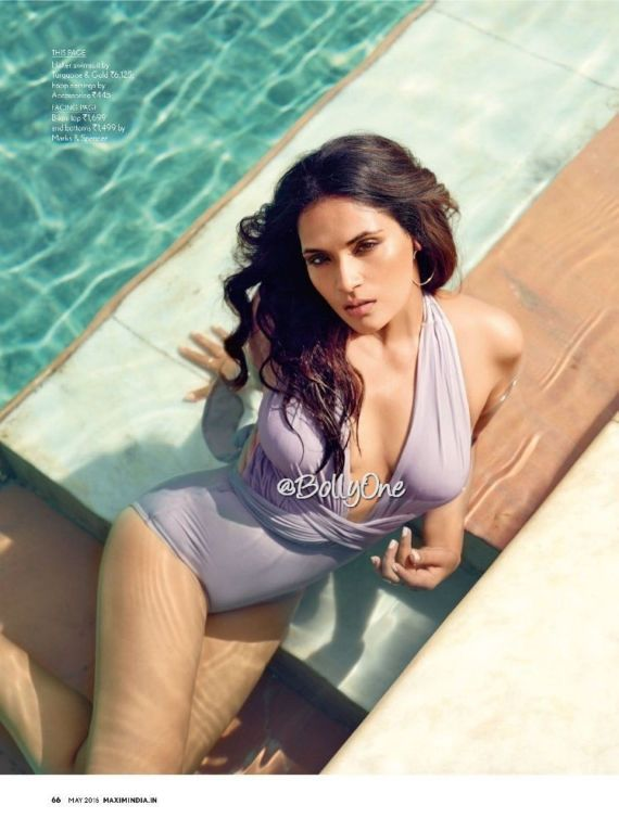 Richa Chadha Shoots For Maxim India
