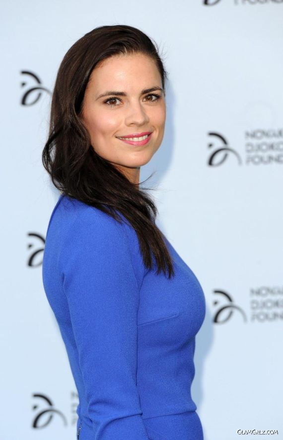 Hayley Elizabeth Atwell At Novak Djokovic Foundation Gala