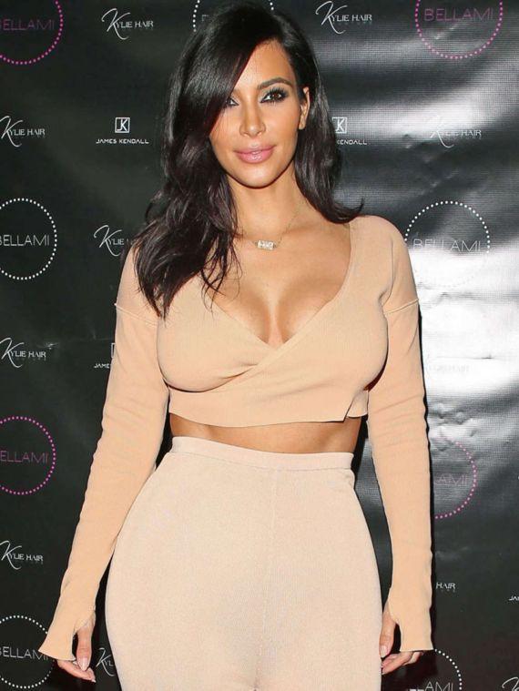 Miss Kardashian At Kylie Hair Kouture Event