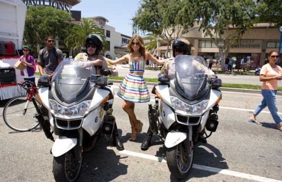 Maria Menounos Be There At La Pride Festival