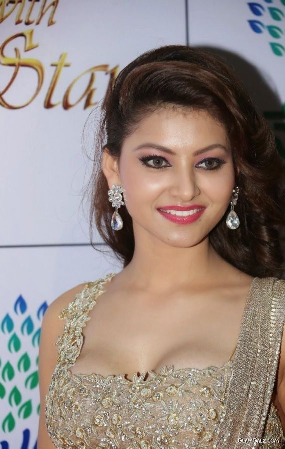 Urvashi Rautela Stills At Memu Saitham Event
