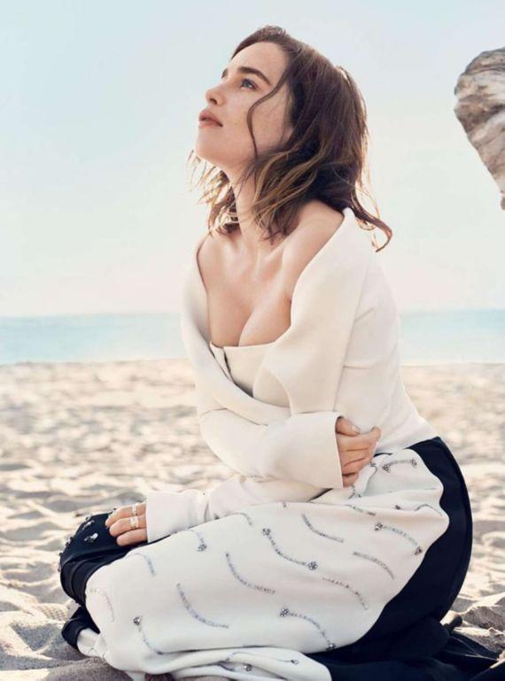 Emilia Clarke For Harpers Bazaar Magazine (July 2016)