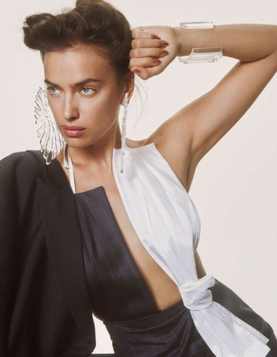 Irina Shayk For Interview Germany Magazine