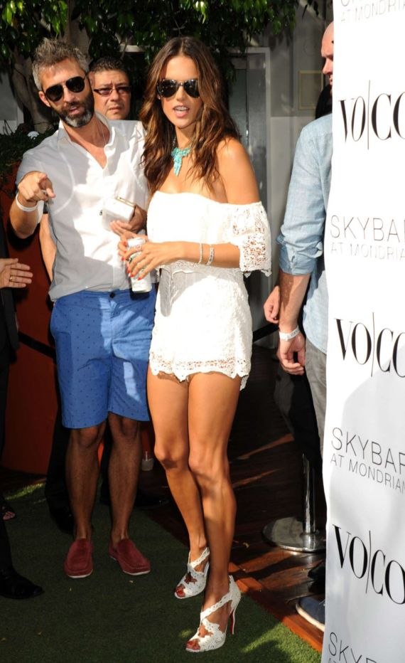 Alessandra Ambrosio At VOCO Summer Closing Party