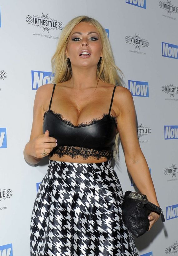 Nicola McLean Attends Now Christmas Party In London