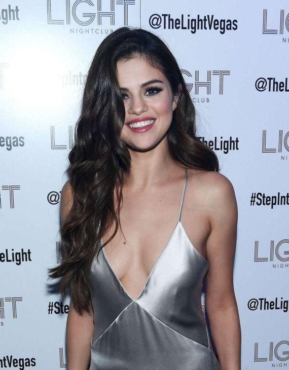 Selena Gomez At Revival Tour Party in Vegas