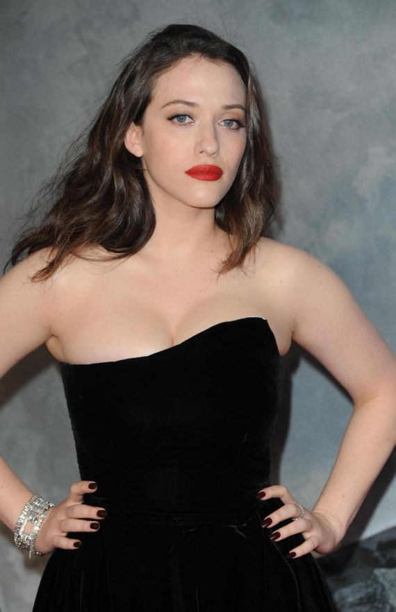 Kat Dennings At Thor The Dark World Premiere