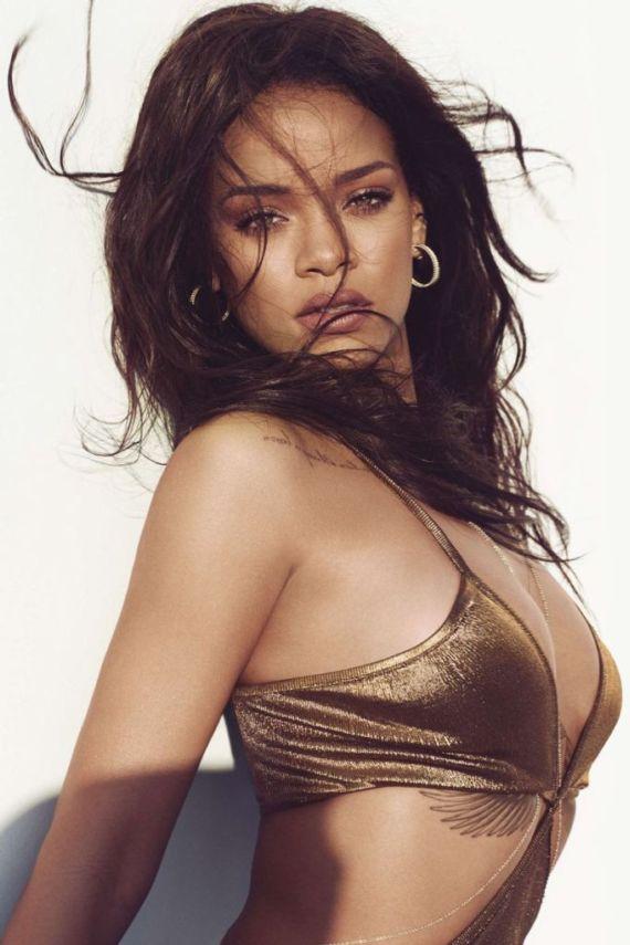 Rihanna Covers Harpers Bazaar Magazine